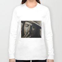 johnny depp Long Sleeve T-shirts featuring Johnny Depp by Future Illustrations- Artwork by Julie C
