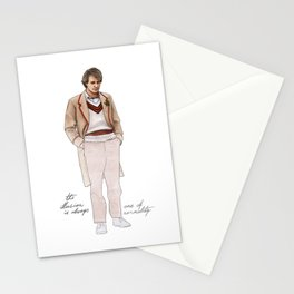 Illusion of Normality Stationery Cards