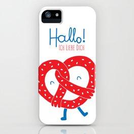 Ich Liebe Dich iPhone Case