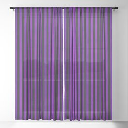 Stripes Collection: Hypnotic Sheer Curtain