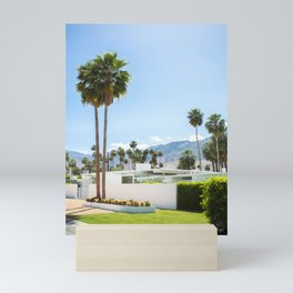 put the palm in palm springs Mini Art Print