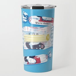 White Rabbit Candy 2 Travel Mug