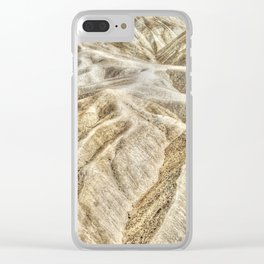 Death Valley desert Clear iPhone Case