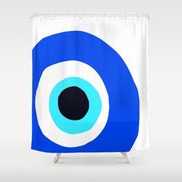 Evil Eye Talisman Lucky Charm Shower Curtain