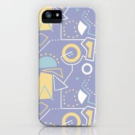 GrazeMaze Blu iPhone Case