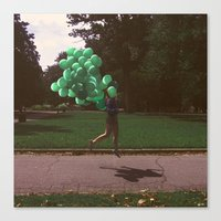 parks and recreation Canvas Prints featuring Parks and Recreation by Jessica/Michelle/Boutté