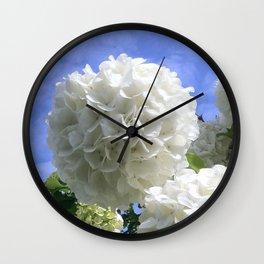 Snowballs Wall Clock