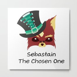 Sebastain Metal Print