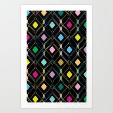 Double Helix Art Print