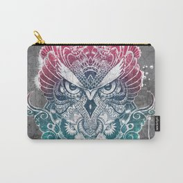 Owl and dragon colored Carry-All Pouch