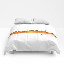 Kansas City Skyline Hq v2 Comforters