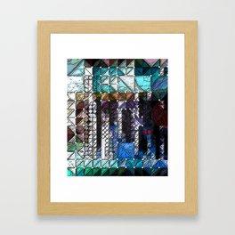 :: Portlandia :: Framed Art Print