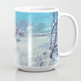 A Winter Scene, Alterslavia Coffee Mug