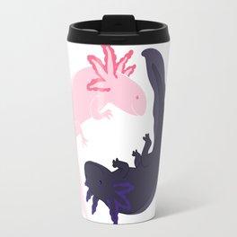 Yin&Yang Axolotls Travel Mug