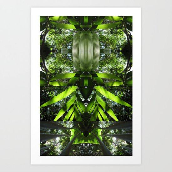 Espiritu - Amazon 012 Art Print