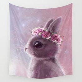 Fairy bunny Wall Tapestry