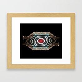 Dwarf Belt Buckle Framed Art Print