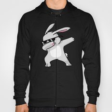 Dabbing Easter Bunny Hoody