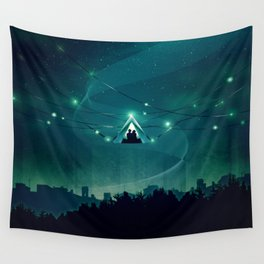 Wireless Camping Wall Tapestry