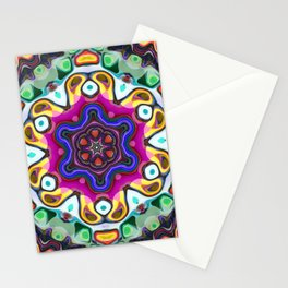 Abstract Colorful Pattern Stationery Cards