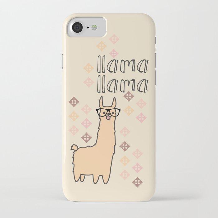 llama llama iphone case
