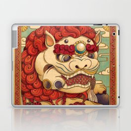 Chinese Lion Laptop & iPad Skin