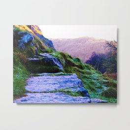 Magical View Point Metal Print