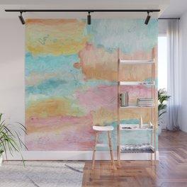 Abstract Watercolor - Design No.1 Wall Mural