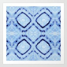 Tie-Dye Dia Sky Art Print