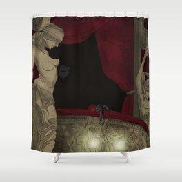 Box 5 Shower Curtain