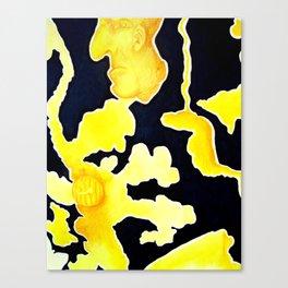 Pumpkin Exploding Canvas Print