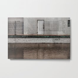 The Flood (urban texture and decay) Metal Print