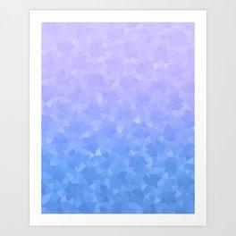 Ombre Violet Art Print