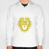 lannister Hoodies featuring House Lannister - Hear Me Roar by Jack Howse