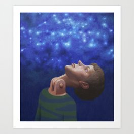 The ability to see stars Art Print