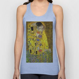 The Lovers Kiss After Klimt Unisex Tank Top