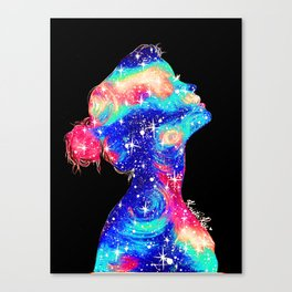 Galaxy Girl II Canvas Print