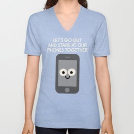 Emojionally Available Unisex V-Neck
