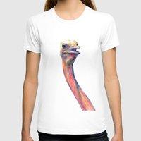 ostrich T-shirts featuring ostrich by dareba