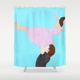 Dirty Dancing - Watercolor Shower Curtain