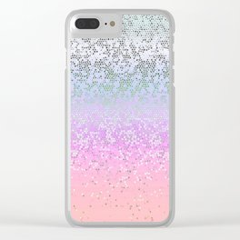 Glitter Star Dust G251 Clear iPhone Case