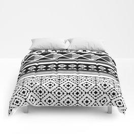 Modern Black 2 Comforters
