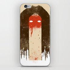The Silence (Native Woman) iPhone & iPod Skin