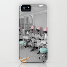 Vintage Hair Salon iPhone Case