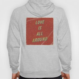 Love is all around - A Hell Songbook Edition Hoody