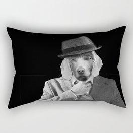 Business Time Rectangular Pillow