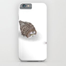 Great Grey Owl (Canavians Series) iPhone Case
