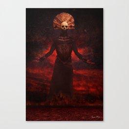 Mythic Occult Series: War Canvas Print