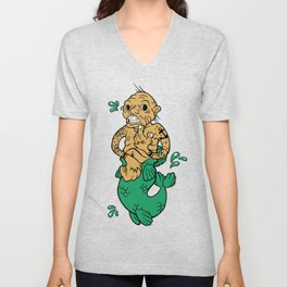 Feejee Mermaid Unisex V-Neck