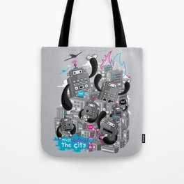 Must destroy the city - Revisited Tote Bag